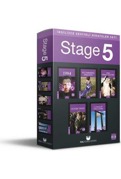 Ingilizce Hikaye Seti – Stage 5