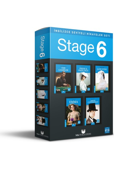 Ingilizce Hikaye Seti – Stage 6