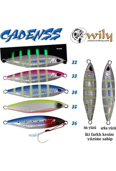 Wily Cadenss Jig 40 gr 70 mm