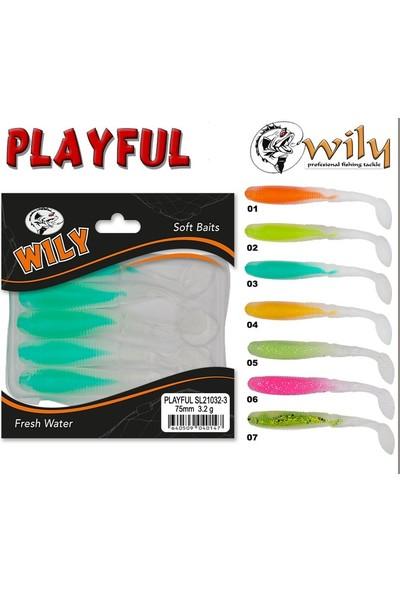 Wily Playful Silikon Yem 7.5 cm 3.2 gr