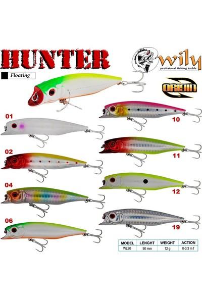 Wily Hunter 9 cm Maket Balık 12 gr (0-0.3m)