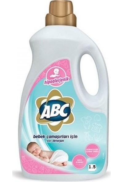 Abc Bebek Çamaşır Sıvı Deterjan 1500 Lt