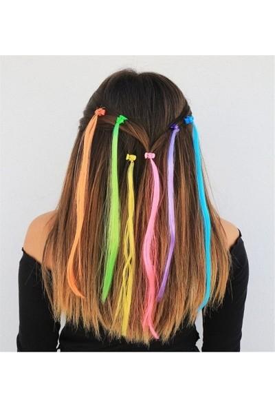 Sermet Süs Dünyası Saç Toka Renkli Saçlı Kız Çocuk Çıtçıt Mandallı Toka