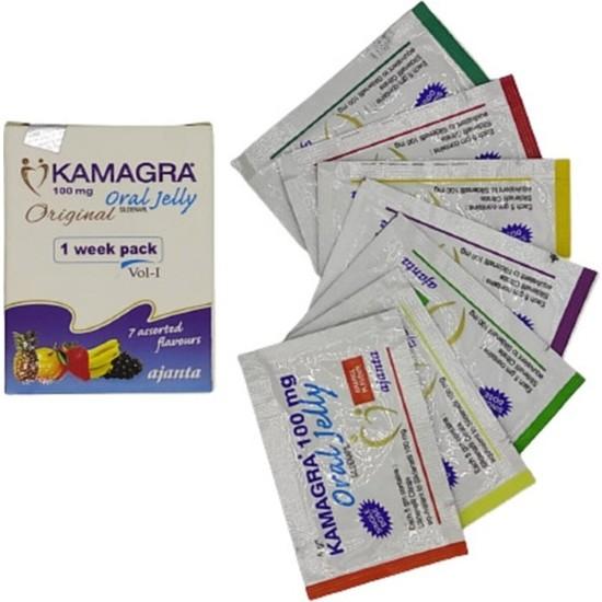 Kamagra Meyveli Jel 7 Ayrı Meyve Aromalı 1 Kutu