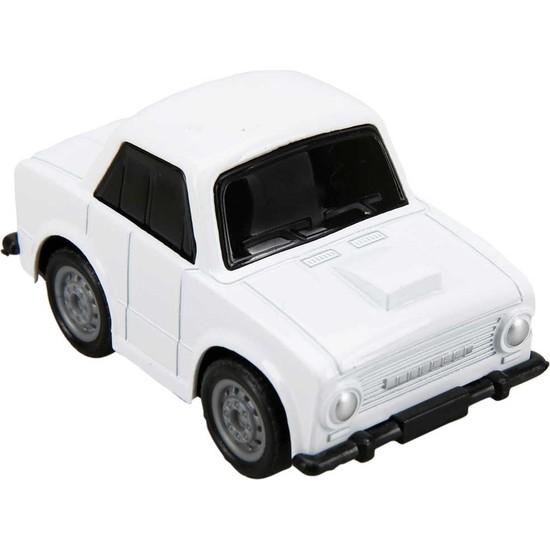 Maxx Wheels Model Arabalar 6,5 cm - Beyaz