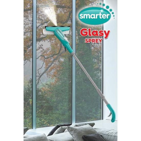 Smarter Glasy Sprey Mop Cam Temizleme Sistemi