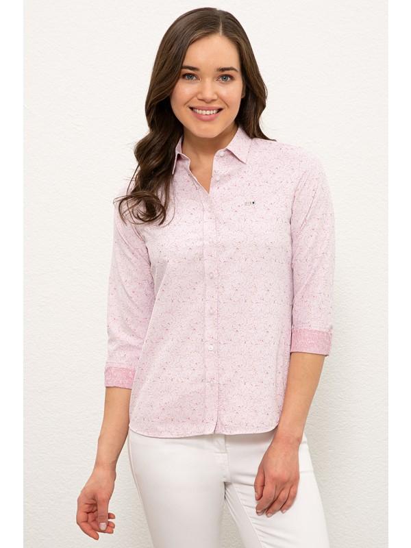 U.S. Polo Assn. Kırmızı Gömlek Uzunkol 50237908-VR030
