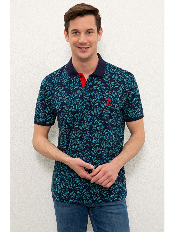 U.S. Polo Assn. Lacivert T-Shirt 50218021-VR033