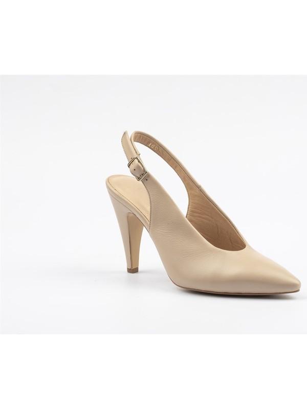 7ADIMDAAŞK Iç Dış Deri Kadın Topuklu Ayakkabı