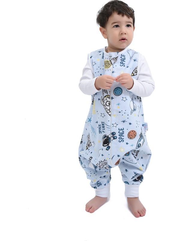Çocuk Bebek Çift Katlı Pazen Uyku Tulumu 1 Tog