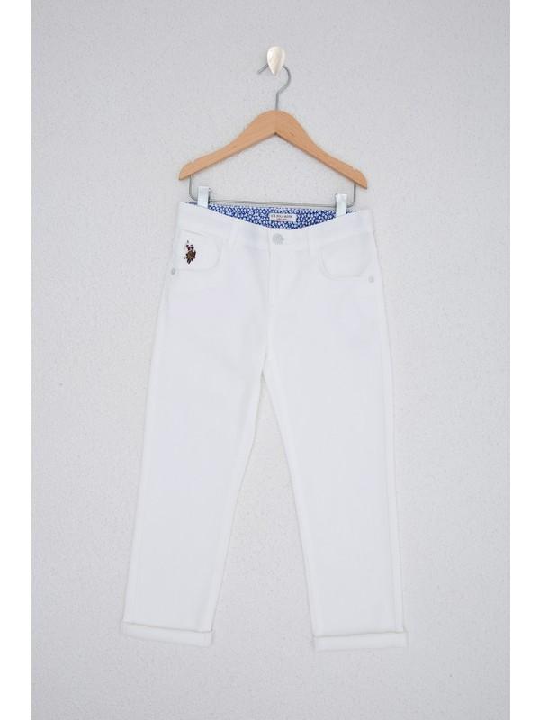 U.S. Polo Assn. Beyaz Chinos 50218313-VR013