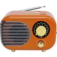 Meier M207 Nostaljik Tasarım Şarjlı Bluetooth Fm Mini Radyo