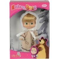Maşa Bebek 12 cm Kış Kıyafetli