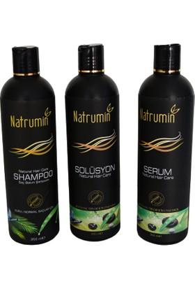 Natrumin 3 Lü Set Saç Derisi Bakımı Şampuan Yağlı