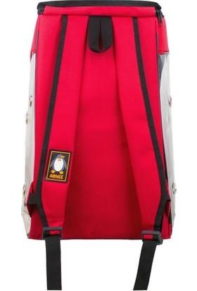 Ankaflex Saydam Transparan Kedi Taşıma Çantası Kırmızı