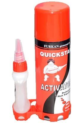 Quickstar 200ML + 50G Plastik Mdf Seramik Hızlı Yapıştırıcı