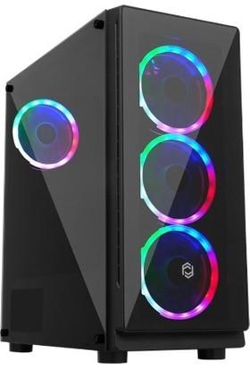 Seclife SLC-G7055 500W (4xdual-Ring Fan) Gaming Kasa