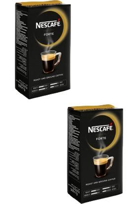 Nestle Nescafe Forte Öğütülmüş Filtre Kahve 2 x 500 gr