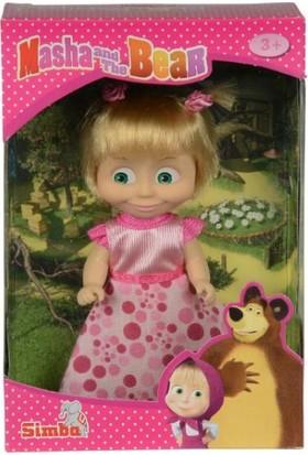 Maşa Bebek 12 cm Günlük Kıyafetli