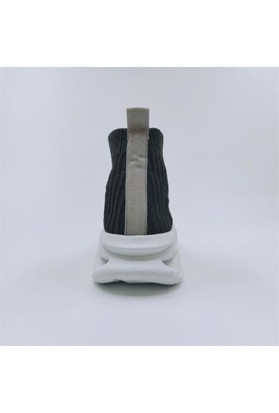 Mammamia 21YA-395 Esnek Taban Yazlık Kadın Çorap Ayakkabı