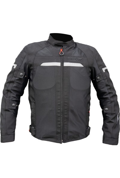 Motospartan Forte Gt Mont Inferno 2001072 Siyah 3 Katmanlı 4 Mevsim Mont Large