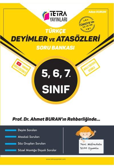 Tetra Yayınları 5-6-7. Sınıf Türkçe Deyimler ve Atasözleri Soru Bankası