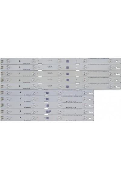 Grundig 43VLE5537,43VLE6565, B43L55314W2, LED Bar Seti ES-141