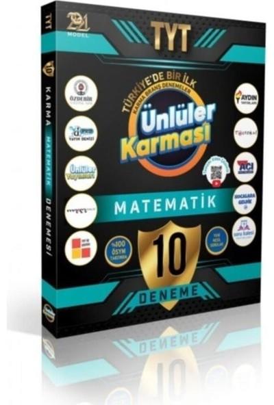 Ünlüler Yayınları 2021 YKS TYT Matematik Ünlüler Karması 10 Deneme