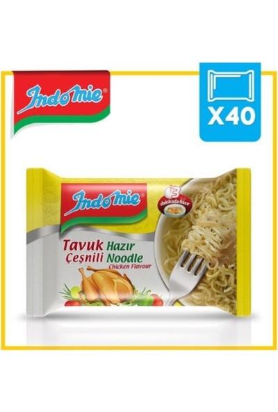 Indomıe Paket Tavuklu Noodle 70 gr x 40'lı Paket