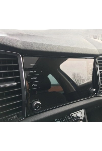 Aeltech Skoda Kodiaq Karoq 8 Inç Navigasyon Temperli Nano Ekran Koruyucu