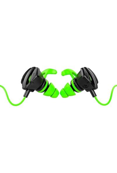 Rampage RM-K26 Ratle 3,5mm Gaming Yeşil Kulak Içi Mikrofonlu Kulaklık