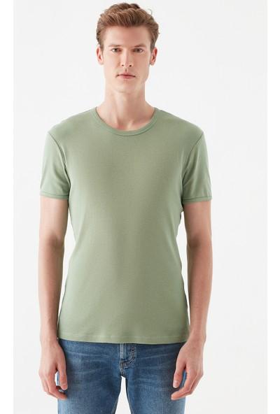 Mavi Erkek Yeşil Basic Tişört 063747-33406