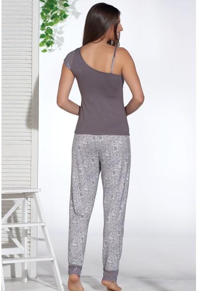Sevim 12744 Bayan 3 Lü Pijama Takım