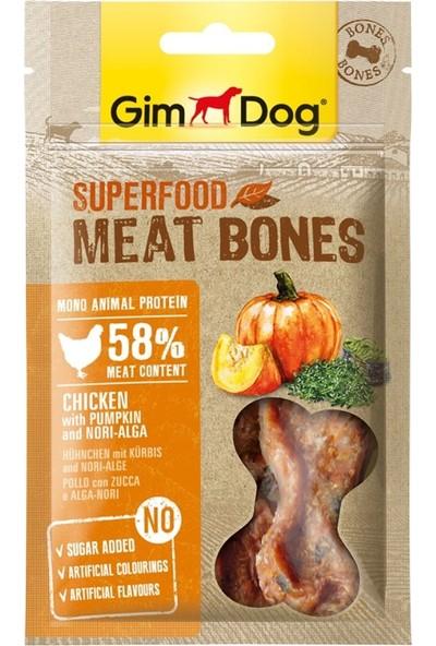 Gimdog Meatbones Tavuk Kabak Yosun Köpek Ödülü 70GR 5'li Set Idili
