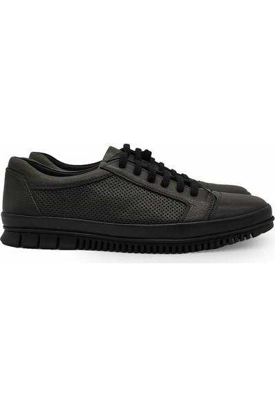 James Franco 4954 Hakiki Deri Yeşil Erkek Ayakkabı