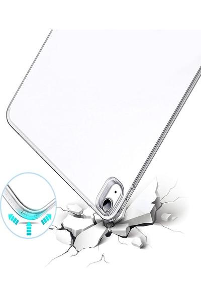 Microcase Apple iPad Air 4 10.9 Inch 2020 Tablet Silikon Soft Kılıf Şeffaf