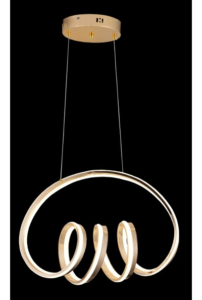 Luna Lighting Modern Luxury Şık LED Gold Sarkıt Ledli Avize