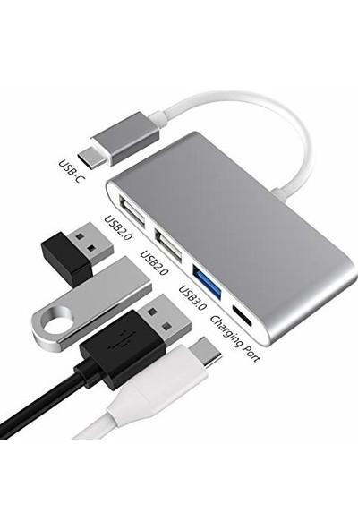 Daytona Macbook Uyumlu Type C To 3 Port Usb Çevirici Adaptör
