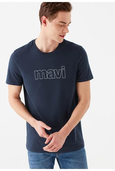 Mavi Erkek Mavi Logo Baskılı Lacivert Tişört 065781-28417