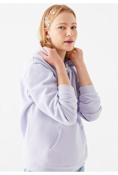 Mavi Kadın Kapüşonlu Lila Sweatshirt 167299-32351