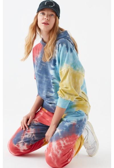 Mavi Kadın Batik Desenli Sweatshirt 1600831-33203