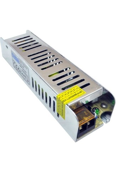 Yücel Slim LED Trafosu Iç Mekan 360 Watt 12V 30A