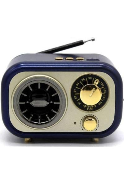 Meier M-208BT Yeni Nesil Mini Fm Radyo