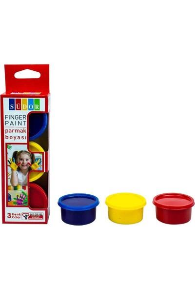 Südor Parmak Boyası Su Bazlı 30 ml 3 Renk SD821