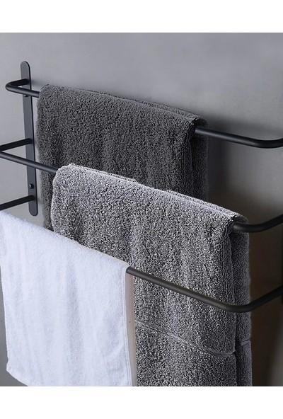 Abronya Metal Askı Banyo Havlu Askısı Banyo Aksesuarları Havlu Standı