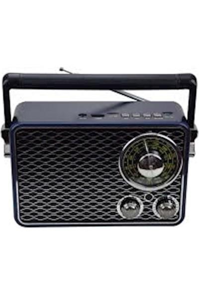 Kemai Md 1177 Nostaljik Görünümlü Bluetooth USB Sd Fm Radyo