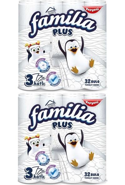 Familia Plus Tuvalet Kağıdı 3 Katlı 64 Lü Paket (2pk*32)