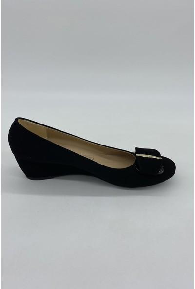 De Scarıo 160 Siyah Süet Dolgu Günlük Ayakkabı