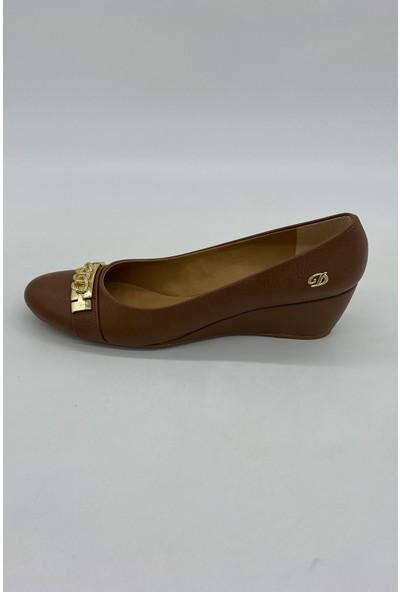 De Scarıo 164 Taba Dolgu Günlük Ayakkabı
