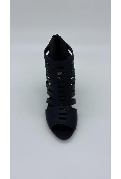 Cudo 002 Siyah Çatlak Sandalet